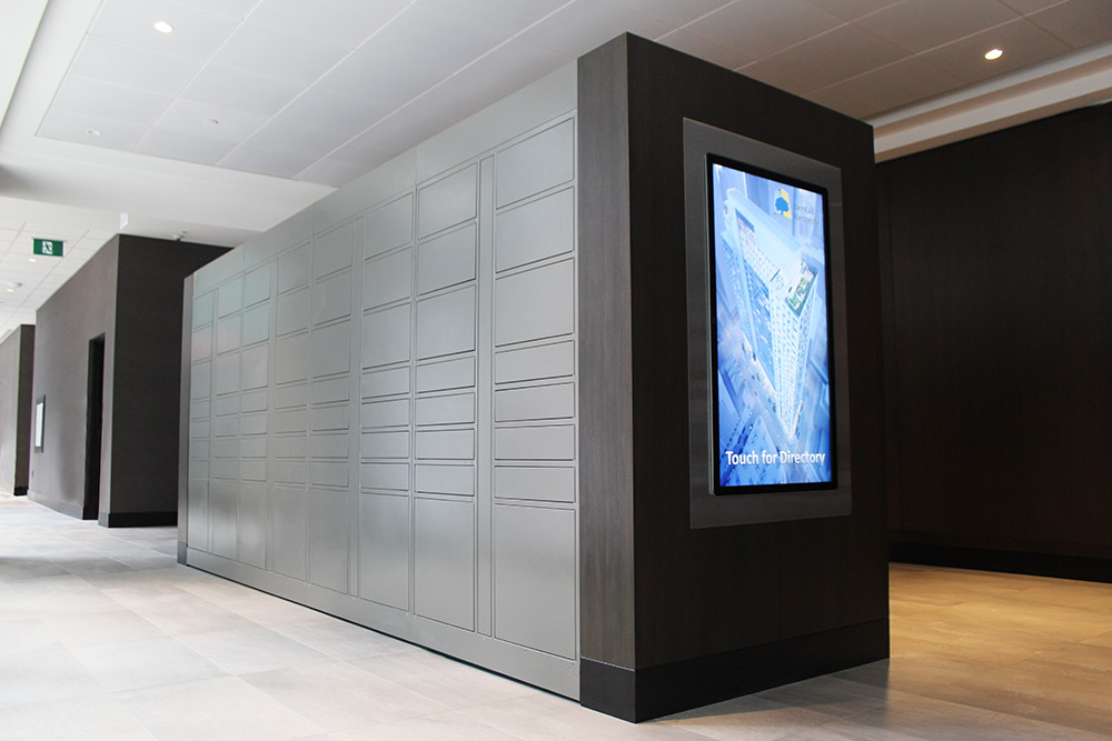 Lobby lockers