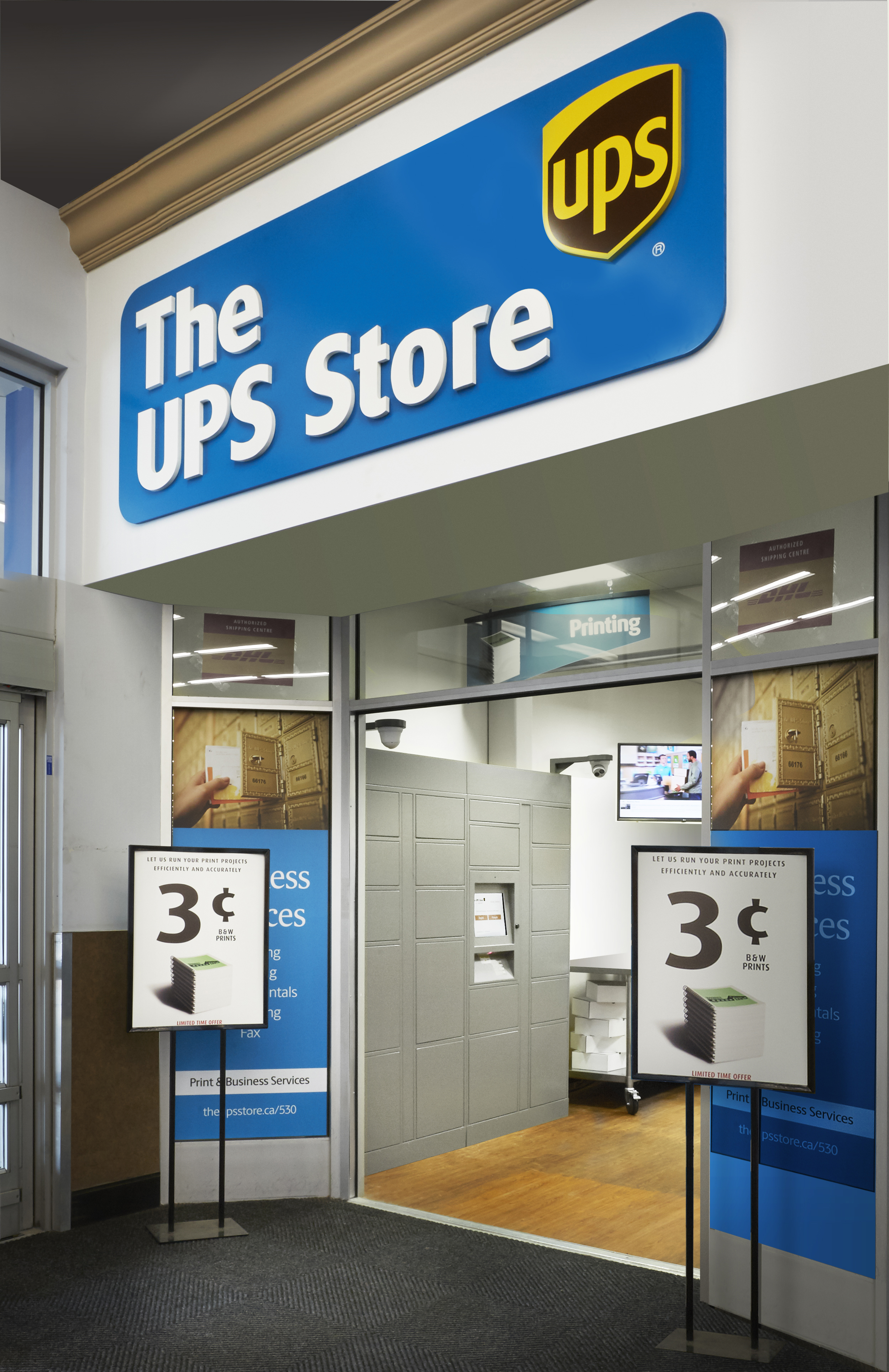 Parcel Lockers a Big Benefit to Business