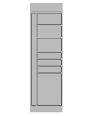 Smart locker 7 door expansion