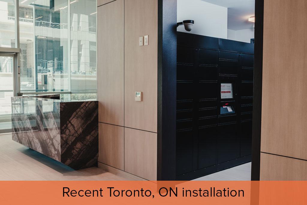 Recent Toronto, ON installation