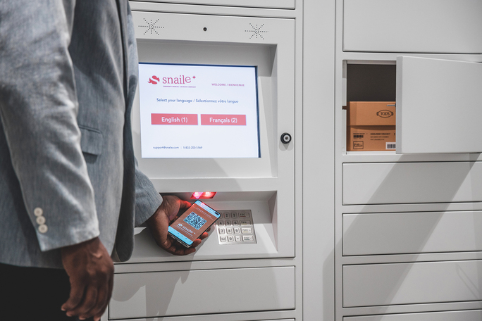 Touchless BOPIS Lockers